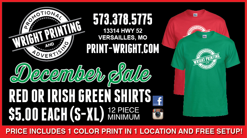 December Special – Red and Green Tshirts