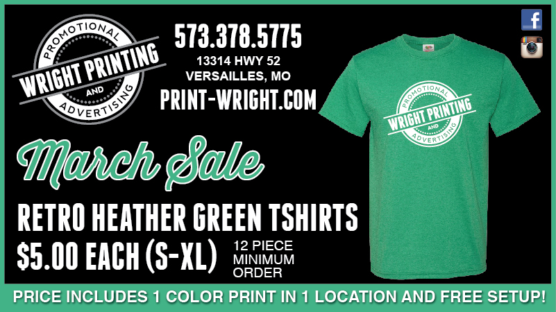 March Specials:  Save on Heather Green and Can Coolies!