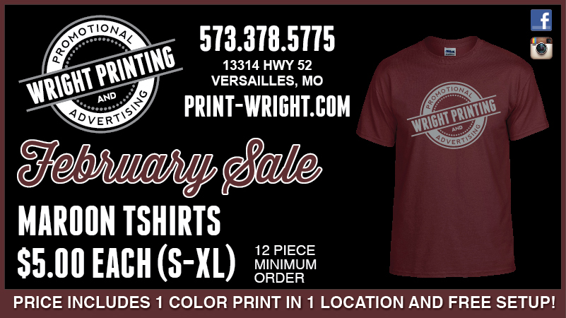 February Special, Now offering Carhartt and New Sublimated Jerseys