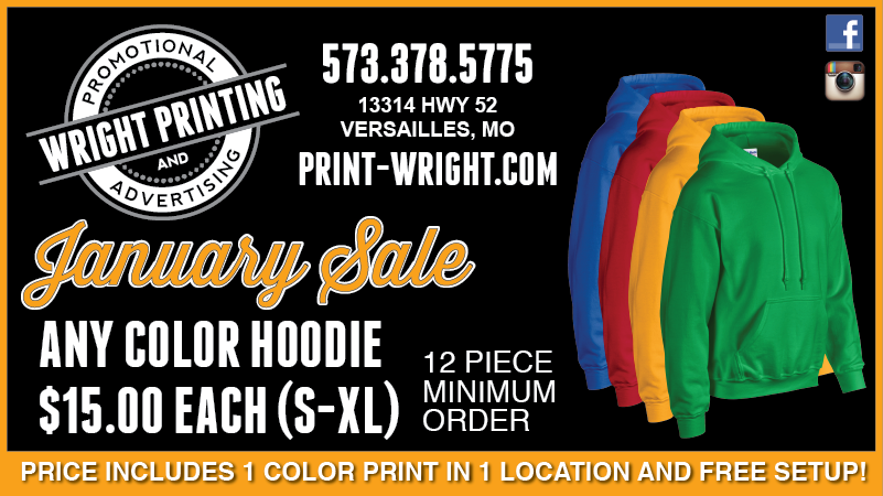 Save on Hoodies this month!  Plus, we're hiring!