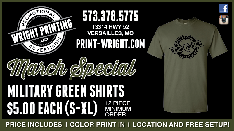 March Special – Military Green